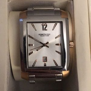 Kenneth Cole Reaction two-toned men's watch